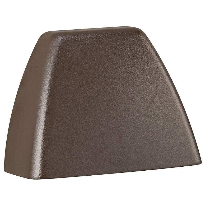 "Kichler 4-Corners 3 1/4"" Wide Bronze 3000K LED Deck Light"