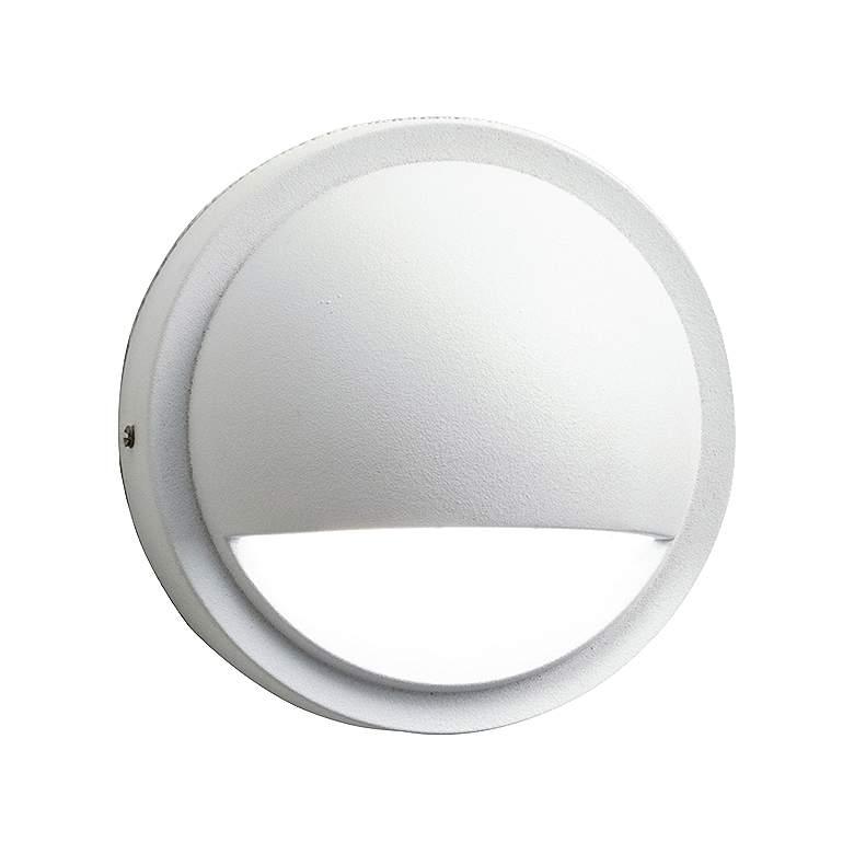 "Kichler 4"" Wide 3000K LED White Half Moon"