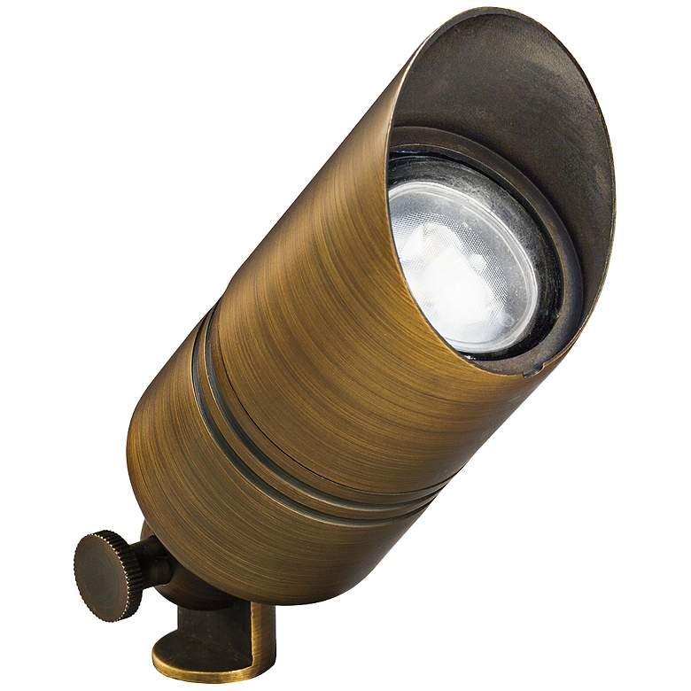 """Kichler Landscape 5"""" High Centennial Brass Accent Light"""