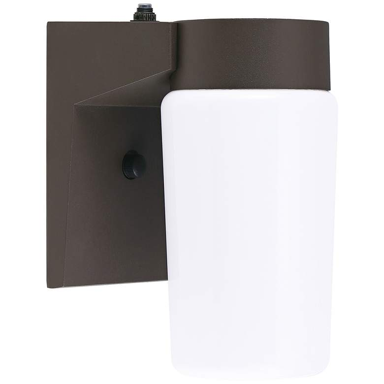 "Eco-Star 4 1/2"" Wide Dusk to Dawn LED Jelly Jar Lantern"