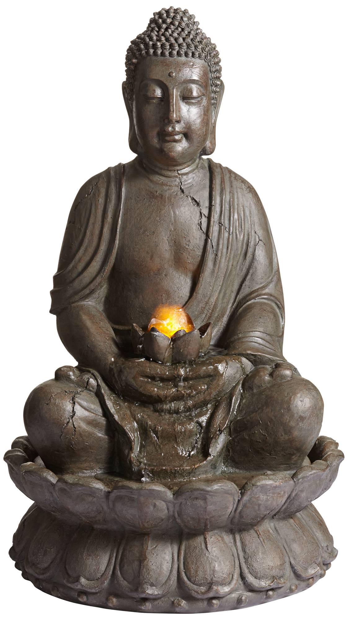 Lamps Plus Buddha Fountain
