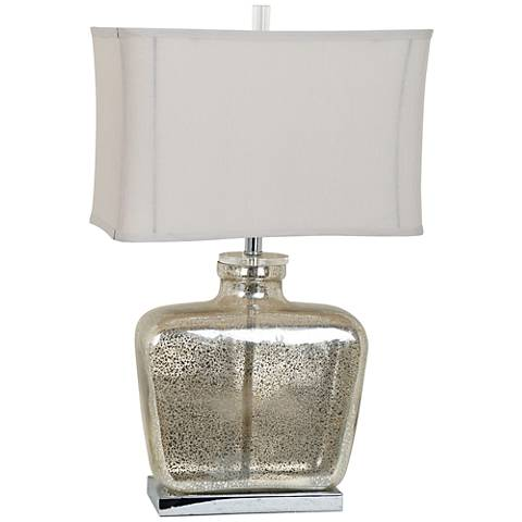 Crestview Collection Celine Mercury Glass Table Lamp