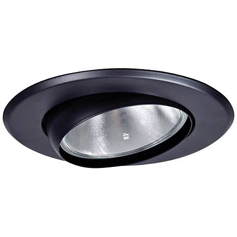 5 black gimbal recessed light eyeball trim 1g641 lamps plus 5 black gimbal recessed light eyeball trim aloadofball Choice Image