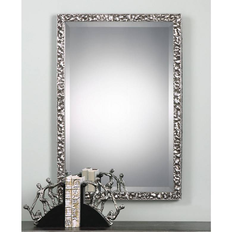 "Uttermost Alshon 26 1/2"" x 38 1/2"" Rectangular Wall Mirror"