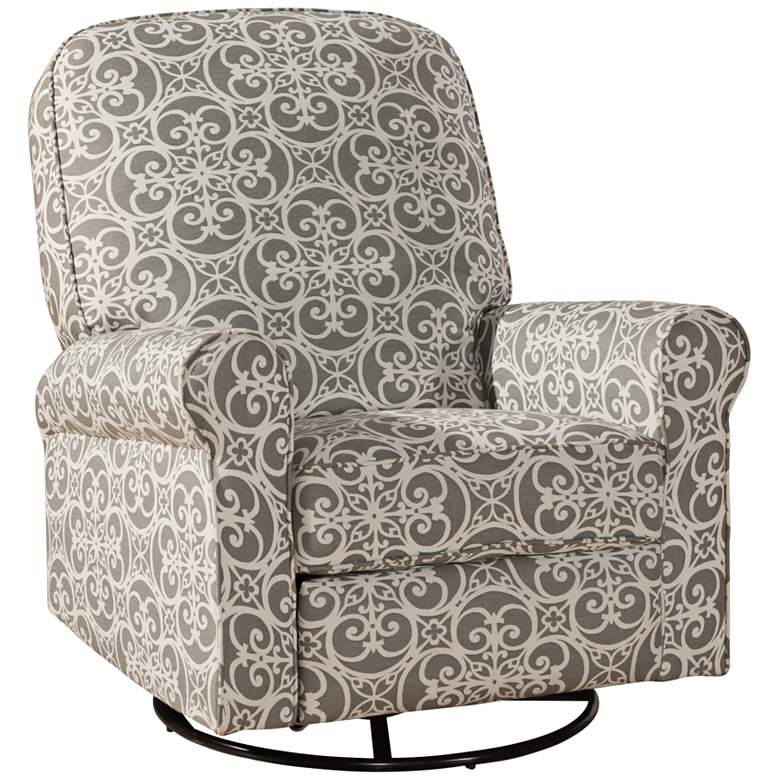 Ashewick Ash Doodles Fabric Swivel Rocker Glider-Recliner