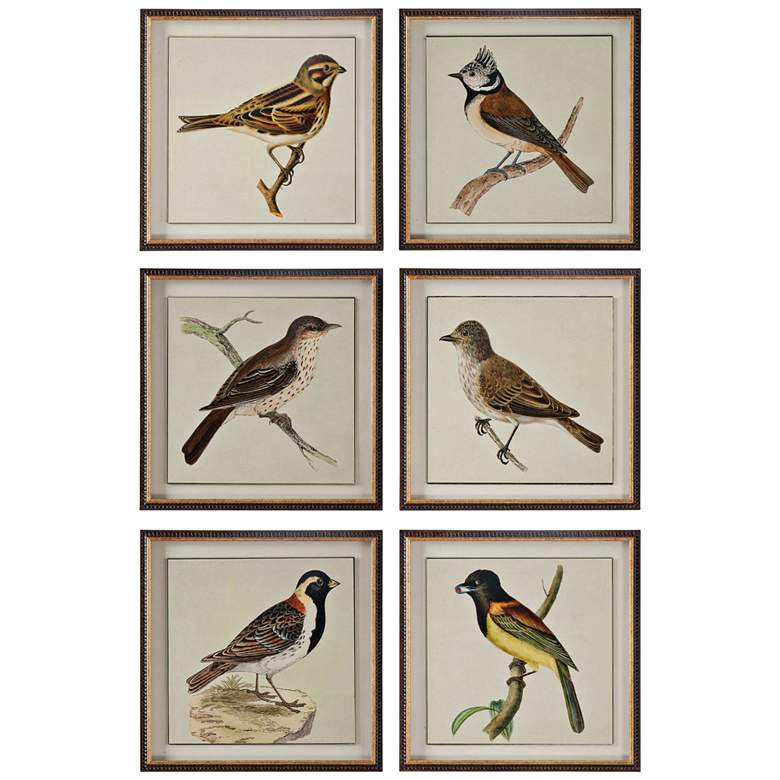 """Spring Soldiers 6-Piece 15"""" High Frame Wall Art Set"""
