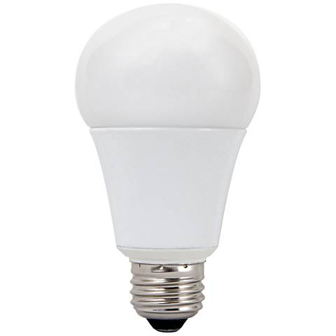frosted 15 watt medium base a19 non dimmable led light bulb 1h108