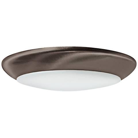 """6"""" Nora Opal 12.5-W Surface Mount LED Retrofit Trim Bronze"""