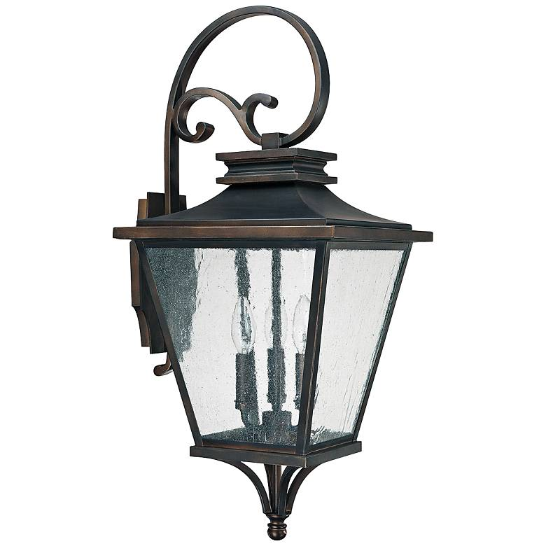 """Capital Gentry 26 1/2"""" High Old Bronze Outdoor Wall Light"""