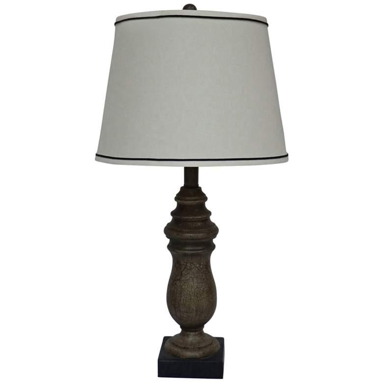 Daisetta Dark Beige Urn Table Lamp