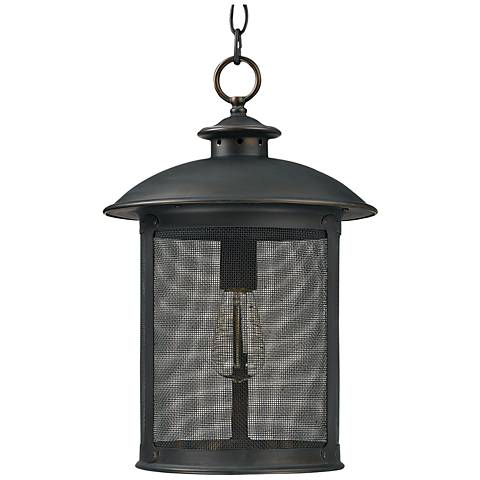"Capital Dylan Mesh 17 1/2""H Bronze Outdoor Post Light"