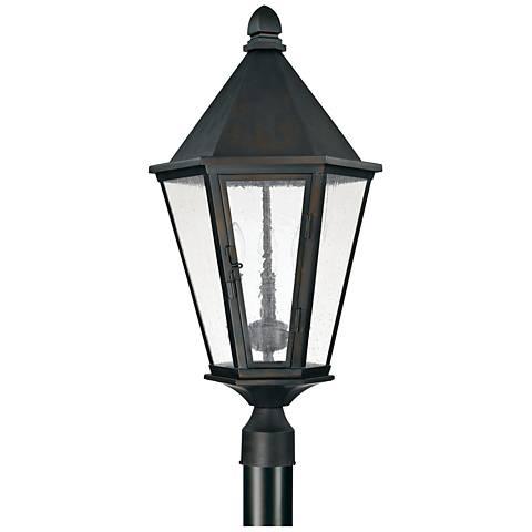 "Capital Spencer 27 1/2""H Old Bronze Outdoor Post Light"