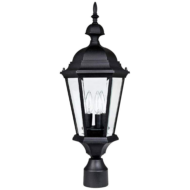 """Capital Carriage House 24""""High Black Outdoor Post Light"""