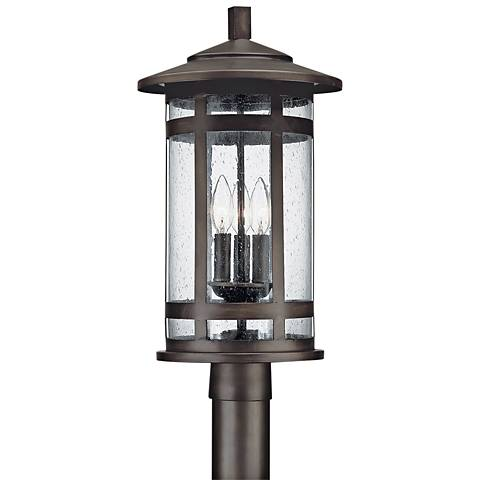 "Capital Mission Hills 20 3/4""H Bronze Outdoor Post Light"