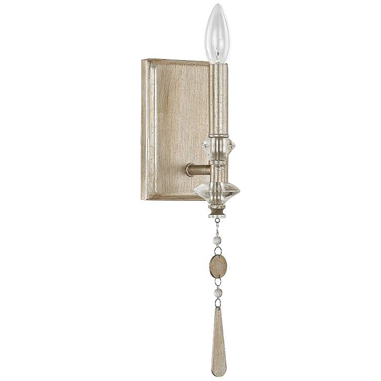 "Donny Osmond Home Berkeley 14""H Winter Gold Wall Sconce"