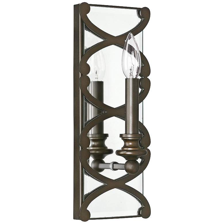 "Donny Osmond Home Alexander 14"" High Bronze Wall"