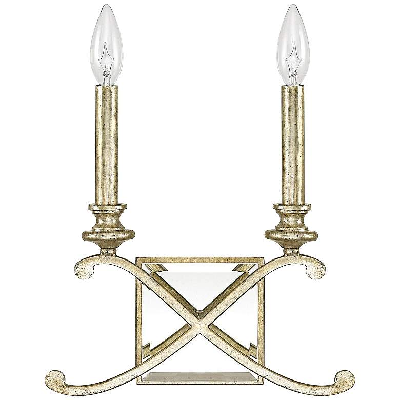 "Donny Osmond Home Alexander 11 1/2""H Gold Wall Sconce"