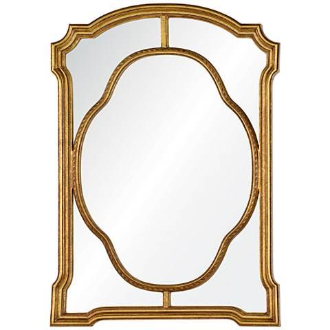 """Cooper Classics Cato Gold 35 1/2"""" x 49"""" Wall Mirror"""