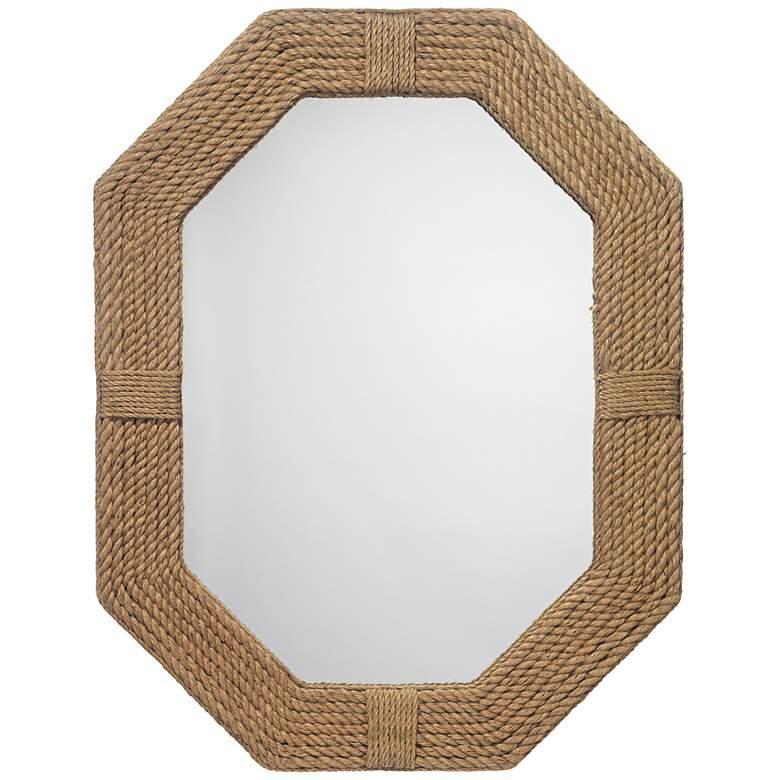 "Jamie Young Lanyard Jute 36"" x 46"" Nautical Wall Mirror"