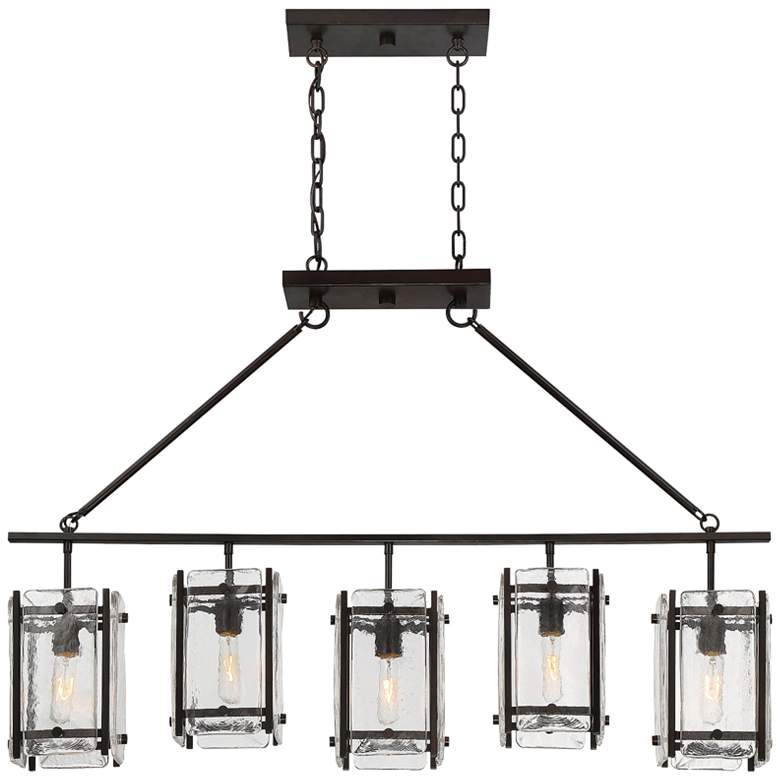 "Glenwood 45 1/4"" Wide Bronze Kitchen Island Light Pendant"