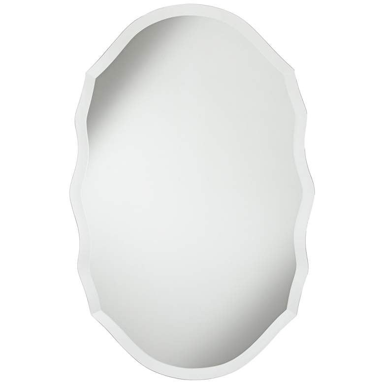 """Isabella 19 1/2"""" x 29 1/2"""" Beveled Wall Mirror"""