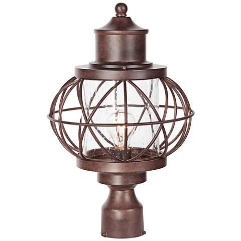 "Revere 17 3/4""H Aged Bronze Outdoor Post Light"
