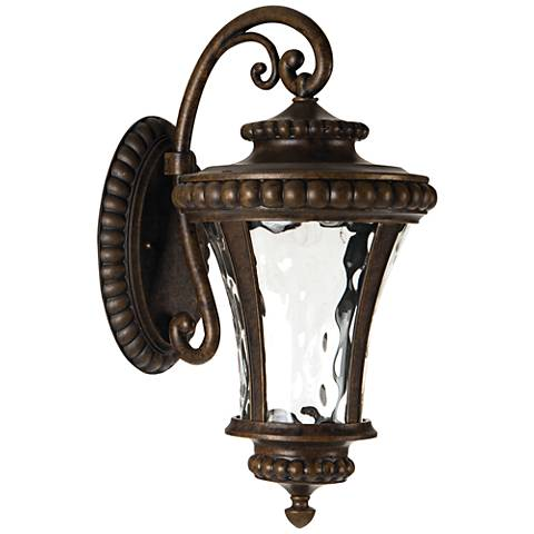 "Prescott 19 3/4""H LED Bronze Outdoor Wall Light"