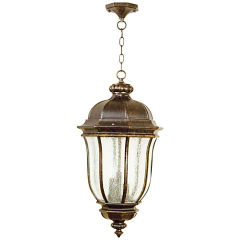 "Harper 24 1/4""H Bronze Outdoor Hanging Light"