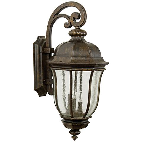 "Harper 28 1/4"" High Bronze Outdoor Wall Light"