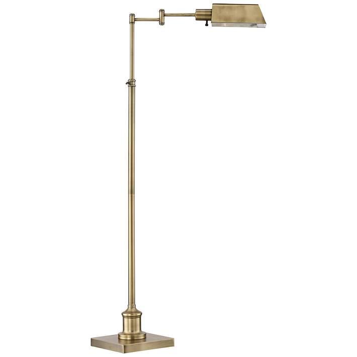 Jenson Aged Brass Pharmacy Floor Lamp 1k779 Lamps Plus