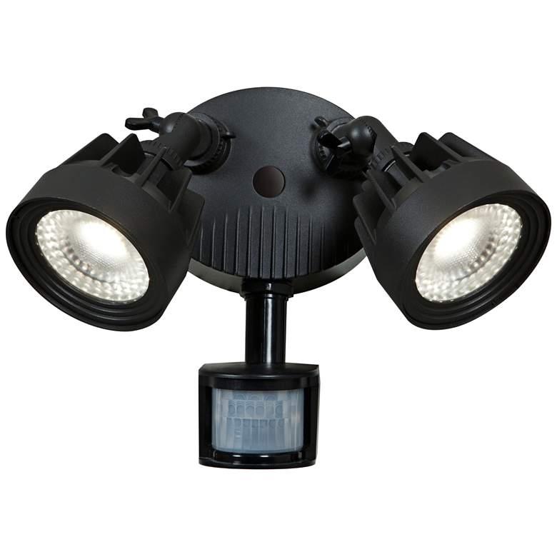 "Guardian 10"" High LED Black Outdoor Spotlight"