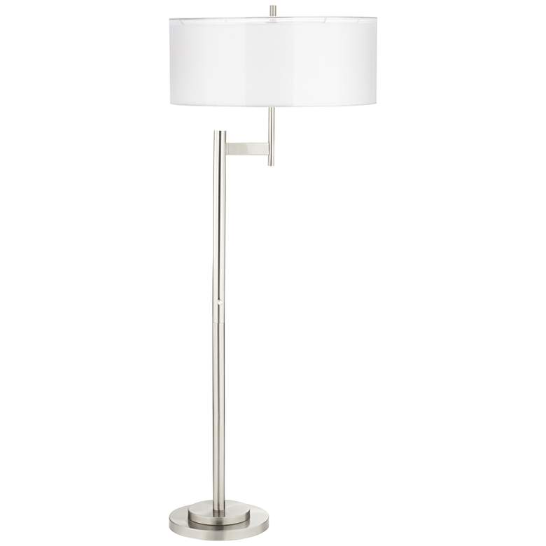 Parker II Light Blaster™ Brushed Nickel Floor Lamp