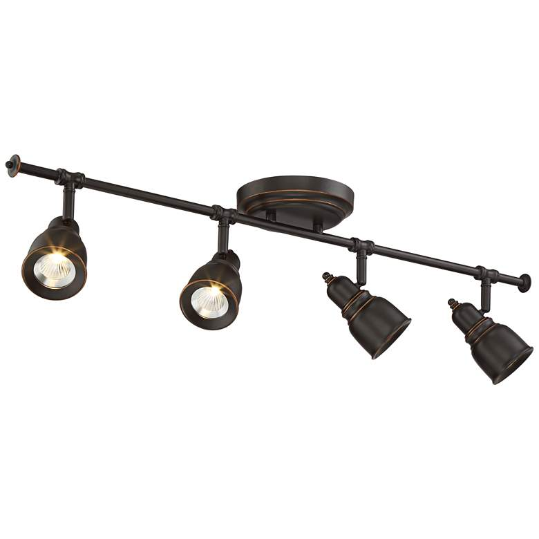 Pro Track® Denise 4-Light Bronze LED Track Fixture