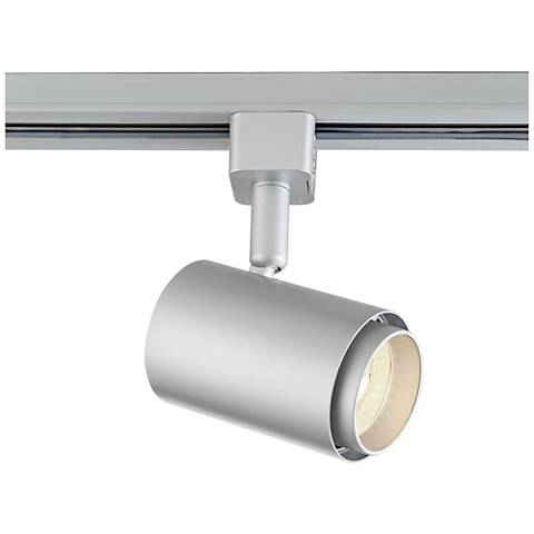 juno track lighting silver 10 watt led cylinder track for juno systems 29273