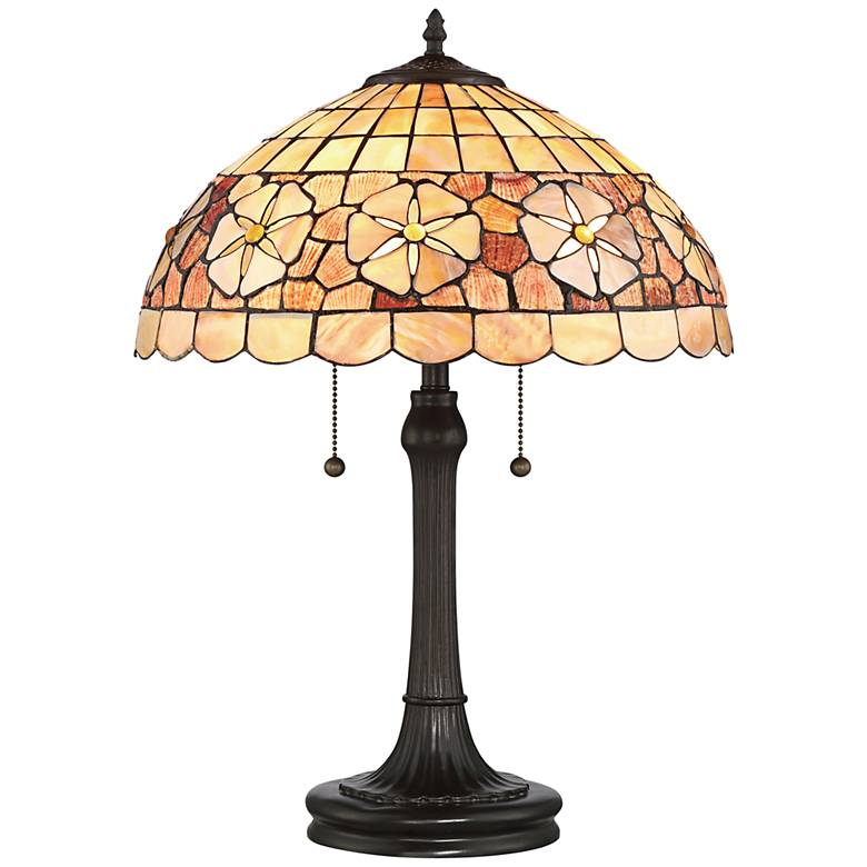 Quoizel Sanibel Sea Shell Vintage Bronze Table Lamp