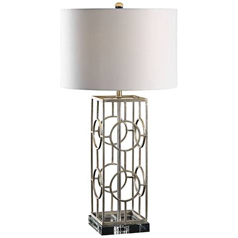 Uttermost Mezen Iron Table Lamp