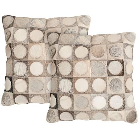 """Safavieh Brigitte 18"""" Square Decorative Pillow Set of 2"""