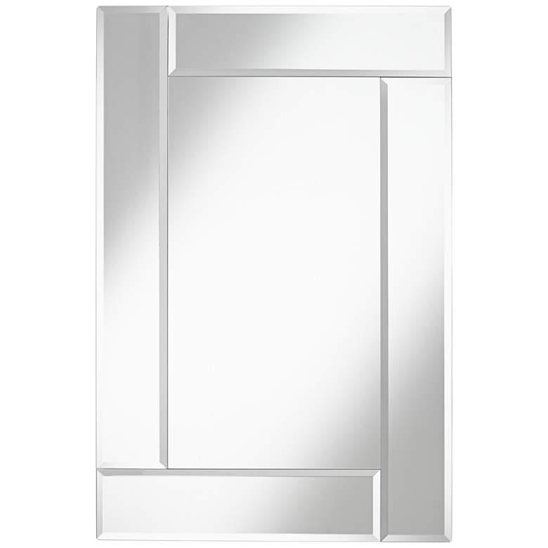 "Royal Beveled Frameless 24"" x 36"" Rectangular Wall Mirror"