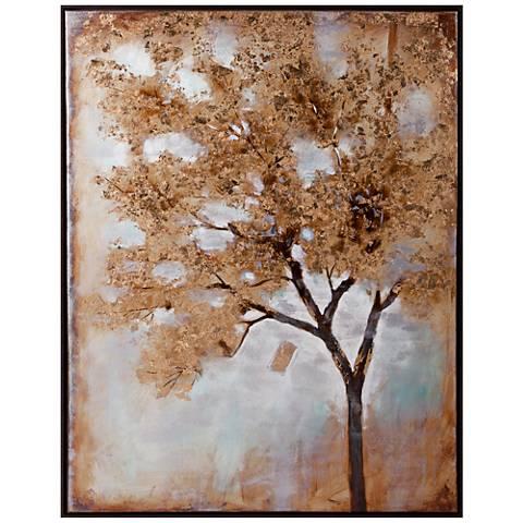 "Valera 48"" High Framed Oil Painting Canvas Wall Art"