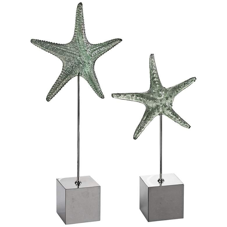 Uttermost Sea Starfish Sculptures - Set of 2