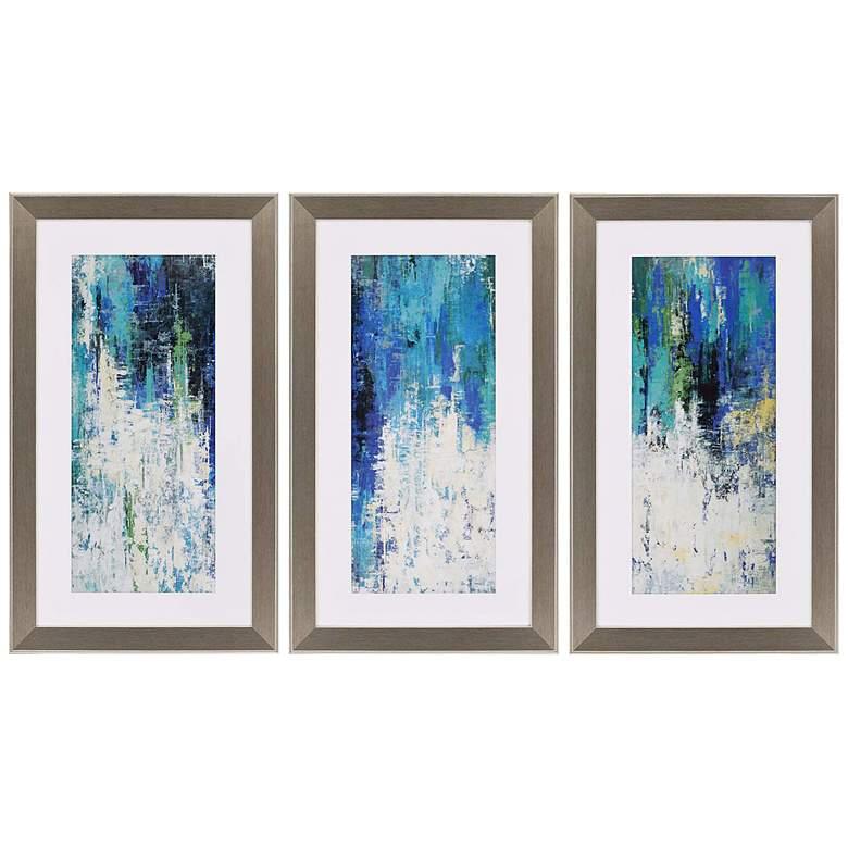 Surface 41 High Triptych 3 Piece Framed Wall Art Set