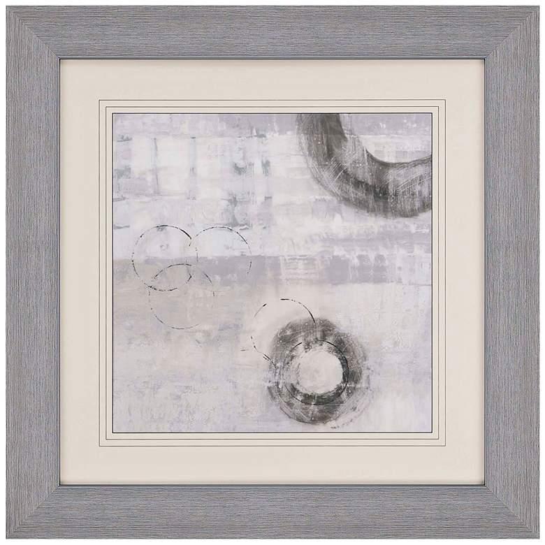 Soft Touch Iv 40 Quot Square Abstract Print Framed Wall Art