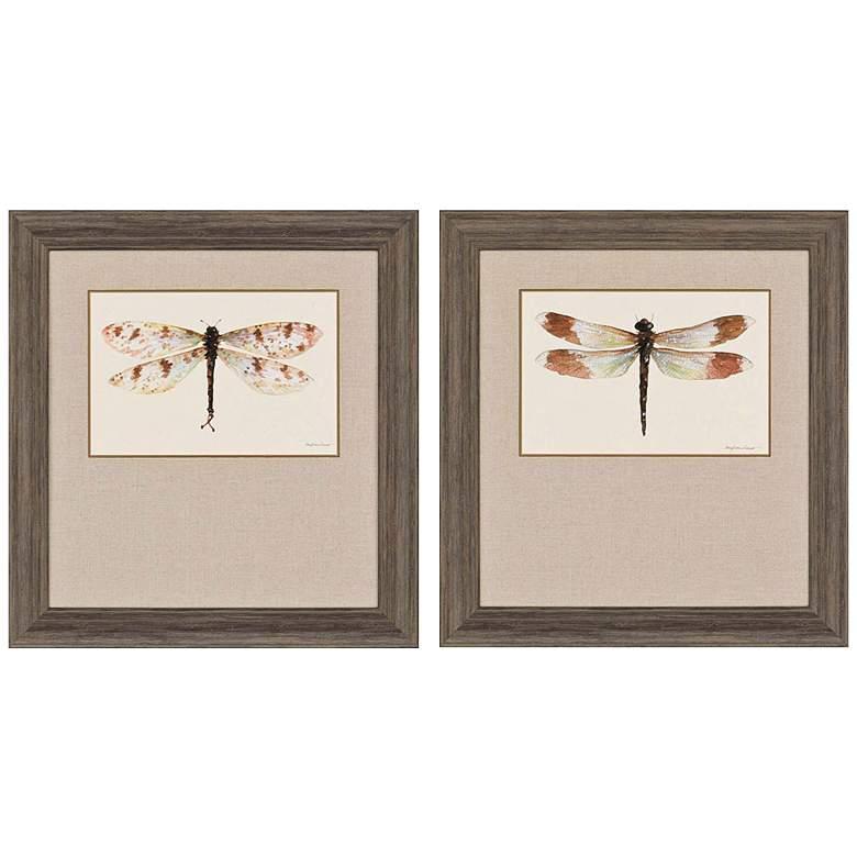 "Beautiful Wings I 32"" High 2-Print Framed Wall"