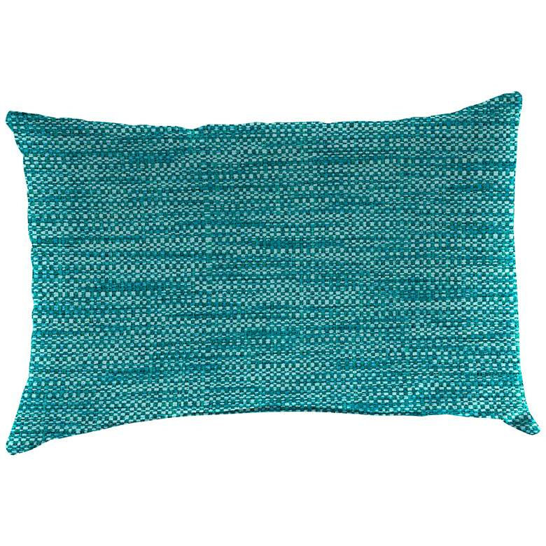 """Remi Lagoon Text 18""""x12"""" Accent Indoor-Outdoor Pillow"""