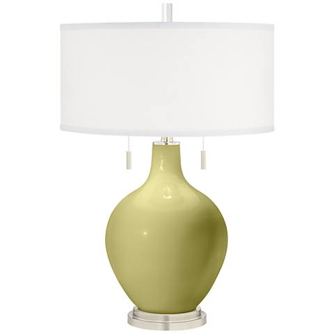 Linden Green Toby Table Lamp