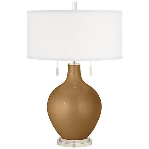 Light Bronze Metallic Toby Table Lamp