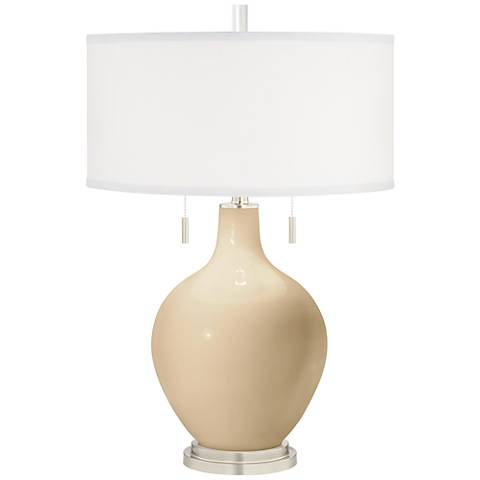 Colonial Tan Toby Table Lamp