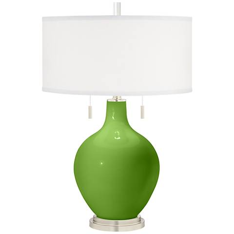 Rosemary Green Toby Table Lamp