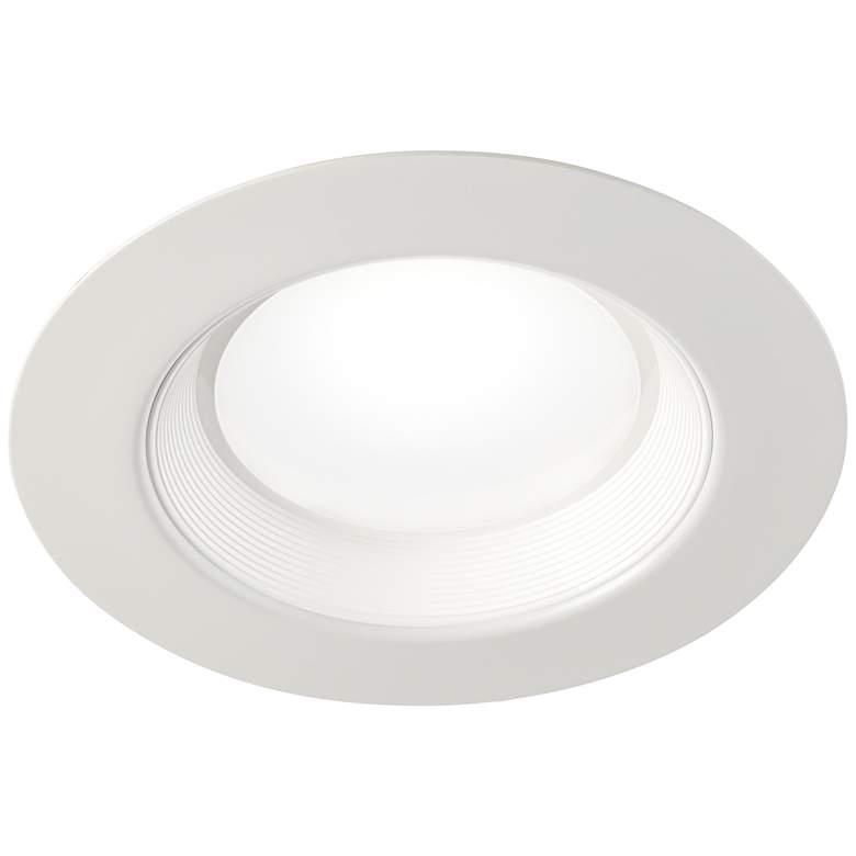 "5""-6"" Baffle 22.5 Watt LED Retrofit Trim in White"