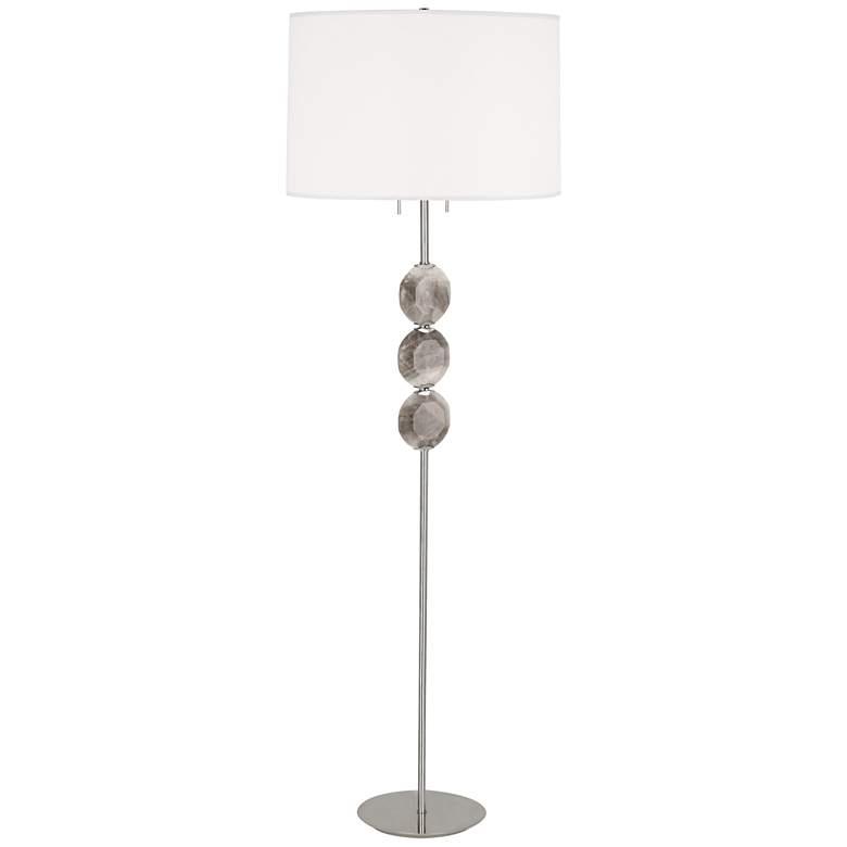 Robert Abbey Hope Polished Nickel Floor Lamp